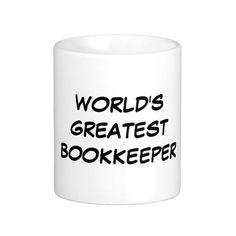 """World's Greatest Bookkeeper"" Mug"