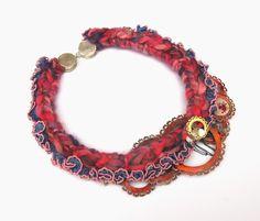 SALLY COLLINS-UK 'Circle Mania' necklace