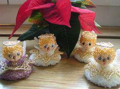 Engel aus Perlen