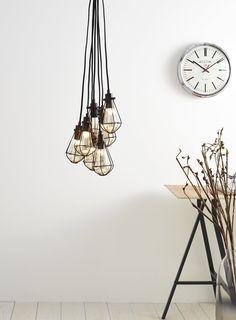 Billie 7 light Cluster Light per la zona divano ci piacciono queste