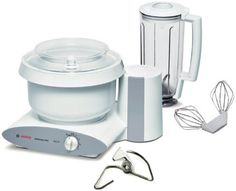 [👍Tested] Sehr Gut! In my experience, in every way this is far superior to anything from Kitchen Aid (aka Whirlpool.) - Bosch Universal Plus Mixer with Blender Attachment