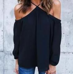 Tee Shirt Femme Off The Shoulder Tops For Women Black Pink Chiffon Top Shirt Summer Ladies Sexy Shirt Blusa Plus Size