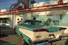 Vintage Diner Car | Ruby's AutoDiner, Laguna Beach