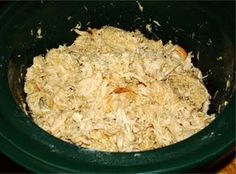 24/7 Low Carb Diner: Crockpot Green Chili Chicken Shreds