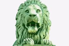 Lion of the Chain Bridge in Budapest Revived - Animation