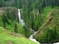 Elk Creek Falls, east of Moscow, Idaho | EDIT: Done and rather nice but a very distant viewpoint so a little disappointing.