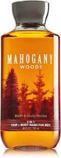Mahogany Woods For Men 2 in 1 Hair + Body Wash - Signature Collection - Bath & Body Works