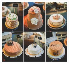 Different textured small cakes. (via #spinpicks)