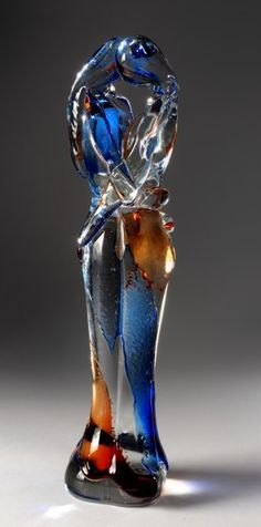 Murano glass artwork  Used to have one of these.......but it broke.