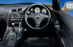 RX7 interior