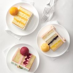 New Takes on Traditional Wedding Cake Flavors - Martha Stewart Weddings Cakes