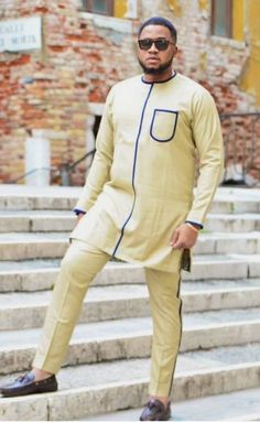 Excited to share the latest addition to my shop: African men's clothing / African fashion / Wedding suit /dashiki /African men's shirt / African attire /Ankara styles African Wear Styles For Men, African Shirts For Men, African Attire For Men, African Clothing For Men, African Style, Nigerian Men Fashion, African Men Fashion, Mens Fashion, Fashion Menswear