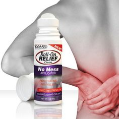 Roll-On Relief Cream - Topical Alternative to Pain Pills Developed by healthcare professionals, this topical pain relief cream is targeted to your specific needs as an alternative to NSAIDs and other oral pain relievers. Now Off Retail Back Pain, Pain Relief, Pills, Health Care, Medicine, Alternative, Retail, Personal Care, Cream