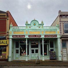 Eureka Books, an antiquarian bookstore in Eureka, California, USA