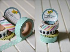 Die Washi-Tapes von folia sind beliebte Bastelaccessoires zum Verschönern und Verzieren von Bastelprojekten. Lesen Sie dazu einen Blogbeitrag unter http://christinamachtwas.blogspot.de/2014/09/washi-washi-washi-washi-washi-washi.html
