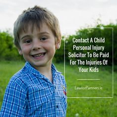 If your child has been injured in an accident get help from expert child personal injury solicitor in Dublin. We help in getting compensation for accidents Personal Injury Claims, Normal Life, Coming Of Age, Filing, Vulnerability, Your Child, The Help, Children, Kids