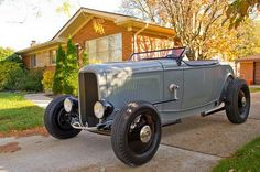 Hot Rod, old school Rat Rods, Fancy Cars, Cool Cars, Old Race Cars, Pedal Cars, Us Cars, Ford Roadster, Traditional Hot Rod, Classic Hot Rod