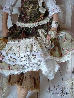 Тильда Энн Мари (в стиле Бохо ШИК) - коллекционная кукла,текстильная кукла
