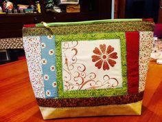 Carimbo e patchwork