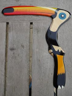 Another version of the Toucan boomerang. As seen on Facebook. The original design was from Herman Anhari - Indonesia.