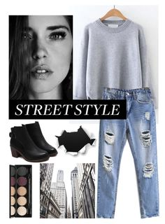 """Streetstyle"" by evinejosianne ❤ liked on Polyvore featuring WithChic and Witchery"