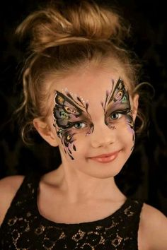Back To Article Butterfly Face Painting Ideas To Try With The Little