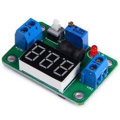 DIY Step - Down Voltage Regulator Module Board with Voltmeter 4.5 - 24V #jewelry, #women, #men, #hats, #watches, #belts