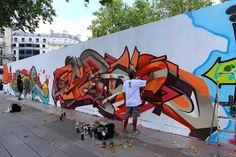 El #GERSO desde París haciendo #Graffiti  #GraffitiMexico