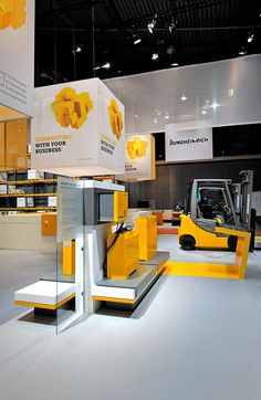 Jungheinrich largest exhibitor at LogiMAT 2016 - Newsroom Exhibition Stall, Exhibition Stand Design, Exhibition Display, Trade Show Design, Display Design, Innovation, Retail Interior, Stage Design, Commercial Design