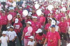 Invitan a caminata contra el cáncer de seno