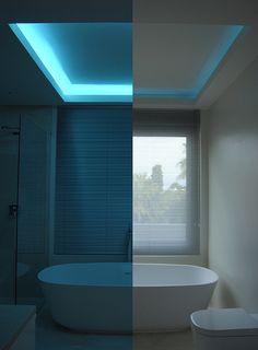 Iluminación RGB en foseado
