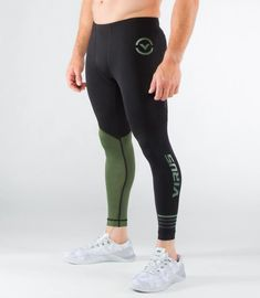 Men's Clothing Casual Pants Just Brand Mens Long Compression Pants Speed Dry Crossfit Fitness Workout Pants Anti-bacteria Leggings Trousers To Have A Long Historical Standing