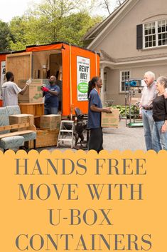 Don't want to lift a finger on moving day? Good news, with our U-Box containers and Moving Help providers, you don't have to. Click through to learn about our full service moving options. Moving Storage Containers, Moving And Storage, Moving Day, Moving Tips, Self Storage, Diy Storage, Moving Truck Rental, Temporary Storage, Free Move