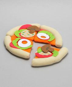 Cloth Pizza - great for kids!