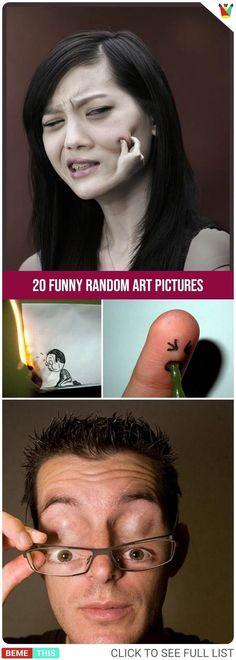 20 Funny Random Art Pictures That Will Make You Laugh #artwork #art #funnyartwork #funnypics #artist #humor #bemethis