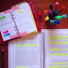 Italian Law Student:Planning the week ahead and revising for the exam