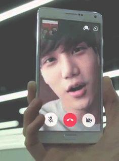 Exo Kai Exo next door imagine getting a phone call from kai 030