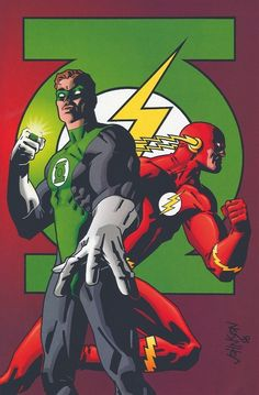 Green and Flash