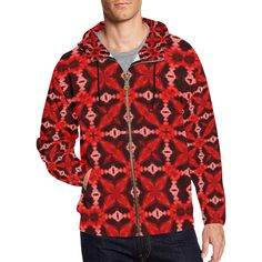 Dagon Blood Prophet All Over Print Full Zip Hoodie for Men (Model H14)