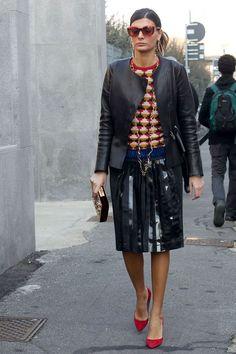 Giovanna Engelbert Street Style | British Vogue