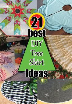 Are you still trying to find the perfect skirt to use for your Christmas tree? Maybe you've given up and made some type of make-shift thing that seems to work, but just not what you love. C…