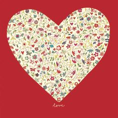 Love, #Valentines Day card by @Kim Anderson  for Woodmansterne