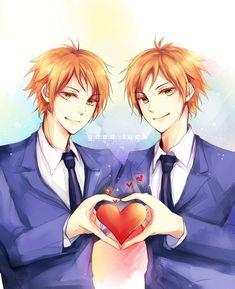 "fckyeahanimation:  ""Hikaru & Kaoru.  Good Luck.  """