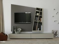 TV wall system GIANO DYNAMIC - ESTEL GROUP