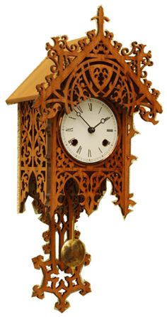 Cuckoo Kingdom, Inc - Bamberg Wall Clock | Cherry Finish | Bell Chime | Fretwork | 7401K, $624.00 (http://www.cuckookingdom.com/bamberg-wall-clock-cherry-finish-bell-chime-fretwork-7401k/)