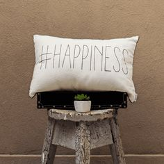 Almohadón #HAPPINESS