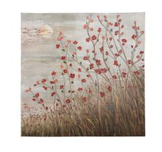 Floral Themed Beautiful Canvas Wall Art