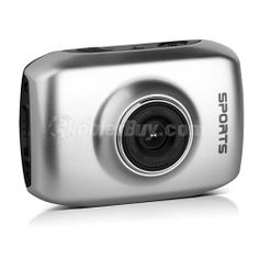 "Koolertron Silvery 720P HD Car Dash Camera Driving Recorder With 2.0"" Touch Panel HDMI USB"