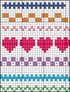 Terrific Pics Cross Stitch borders Suggestions Brain Clutter: Cross stitch pattern: Borders and things Cross Stitch Boarders, Cross Stitch Designs, Cross Stitching, Cross Stitch Embroidery, Cross Stitch Patterns Free Easy, Embroidery Patterns, Easy Patterns, Cross Stitch Flowers, Floral Embroidery