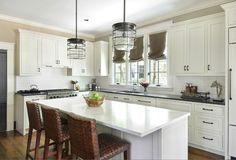 More Interior Design Ideas, counter top colors Small Kitchens, White Kitchens, Kitchen Small, New Kitchen, Kitchen Trends, Kitchen Ideas, Kitchen Design, Kitchen Decor, Kitchen Inspiration